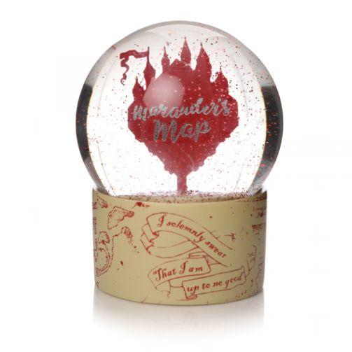 Harry Potter Snow Globe Marauder's Map Front