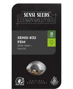 Sensi #32 Feminised Seeds (Silver Haze x Fire OG)