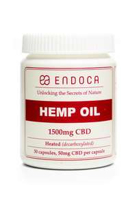 Endoca CBD Hemp Oil Capsules (15%)