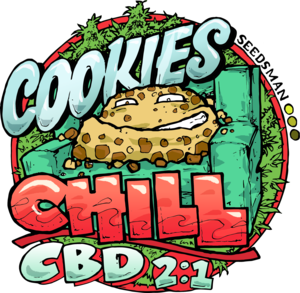 Cookies Chill CBD 2:1 Feminised Cannabis Seeds by Seedsman