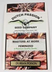 Dutch Passion Durban Poison Feminised cannabis seeds