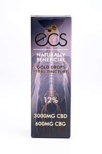 ECS CBD Gold Drops (12%)