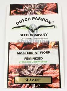Dutch Passion Shaman Feminised cannabis seeds