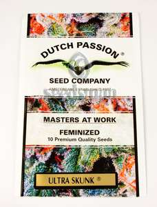 Dutch Passion Ultra Skunk Feminised cannabis seeds