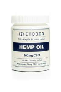 Endoca CBD Hemp Oil Capsules (3%)