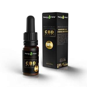 Pharmahemp CBD Black Drops (12%)