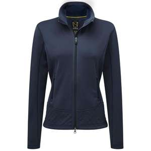Noble Premium Fitted Fleece Jacket Navy