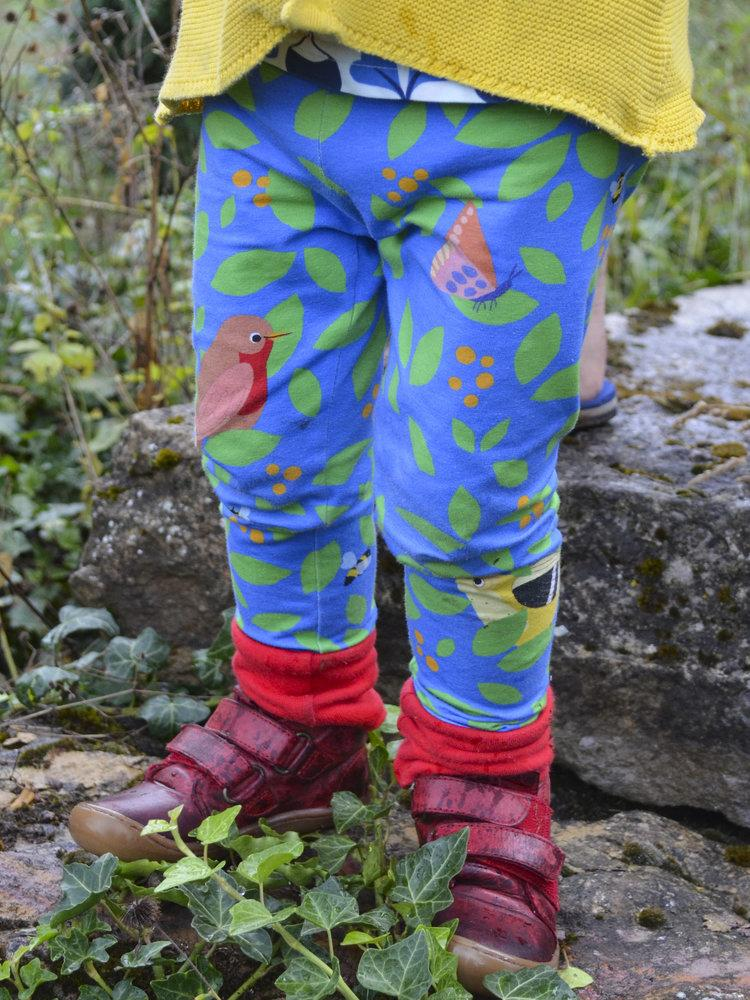 merle kids blue berry leggings model