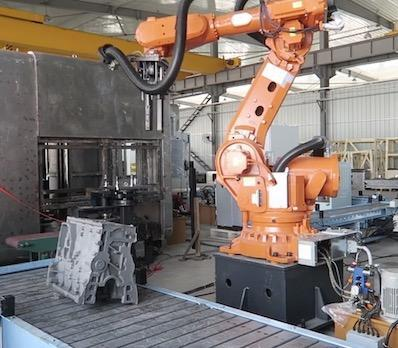 Picking big stuff with big robots using 3D Vision