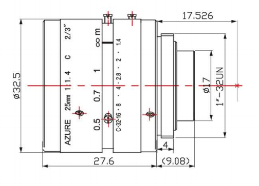 AZURE-2514MM Diagram