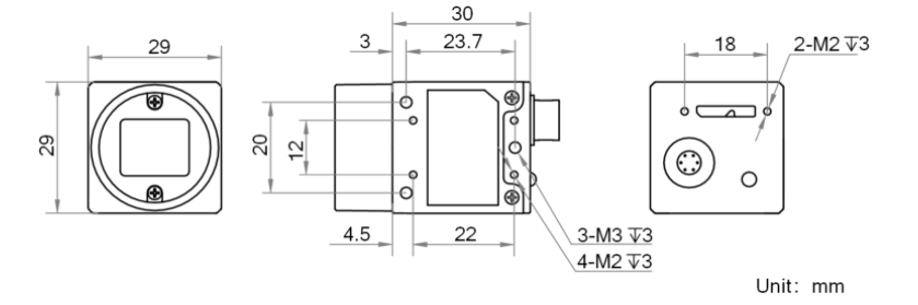 MV-CE050-30UMC Diagram