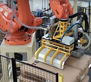 3D Robot Vision for De-palletising