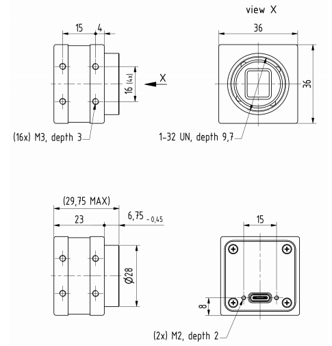 DMK 37AUX178 Diagram