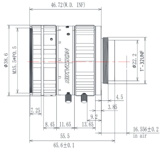 MVL-KF5028M-12MP Diagram