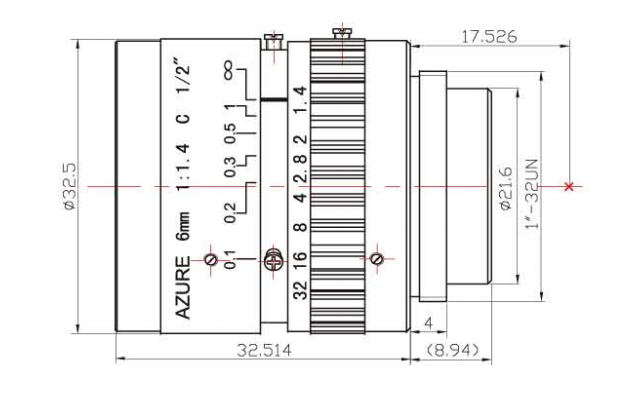 AZURE-0614MM Diagram