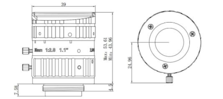 MVL-KF3528M-12MP Diagram