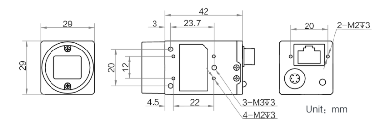 MV-CE050-30GM Diagram