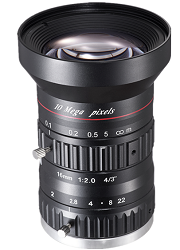"HIKROBOTC-Mount 16mm 4/3"" Lens"