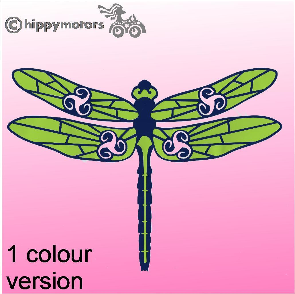 Dragonfly Car Sticker