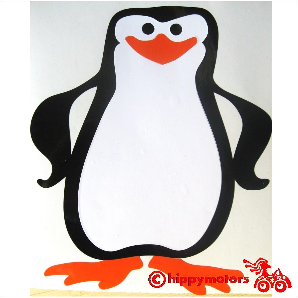 penguin decal