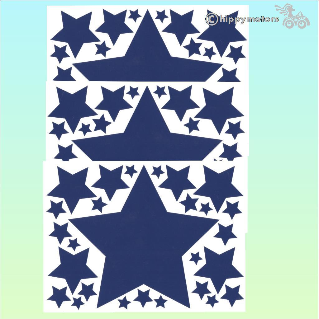 discount star car stickers caravan decals