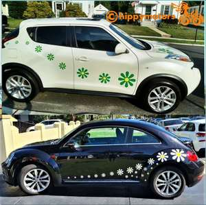 Daisy decal stickers vinyl transfers by hippy motors