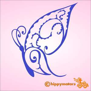 mariposa butterfly car sticker by hippy motors