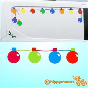 fairy light stickers festoon light decals for caravans and camper vans