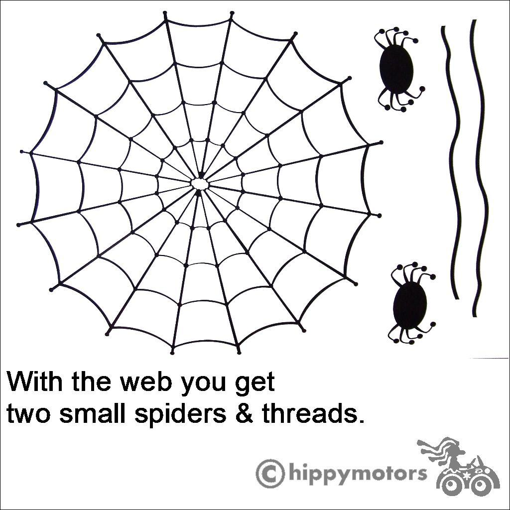 Spiders web decal sheet by Hippy Motors