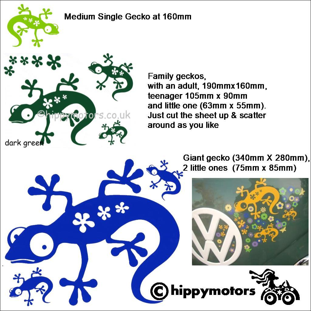 Gecko Decal sheets by Hippy motors