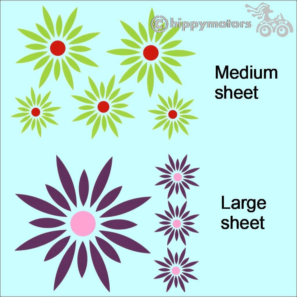 Daisy car sticker for vehicles walls windows