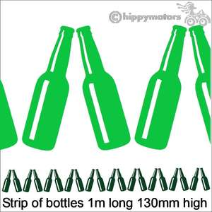 Bottle vinyl decals