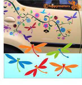 dragonfly vinyl caravan decals by hippy motors