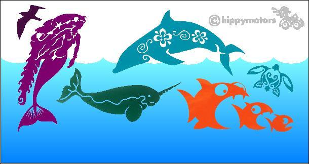 Sealife stickers