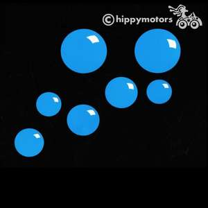 bubble stickers vinyl decal for vehicles and walls