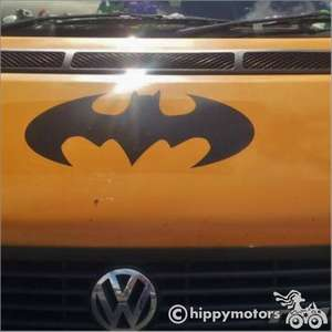 Batman decal on van