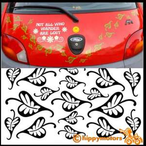 vinyl leaf decals to add to cars