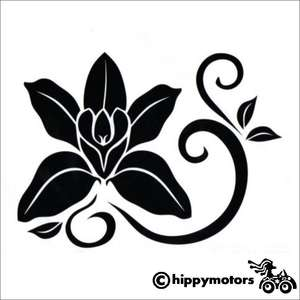 Orchid Decal for cars