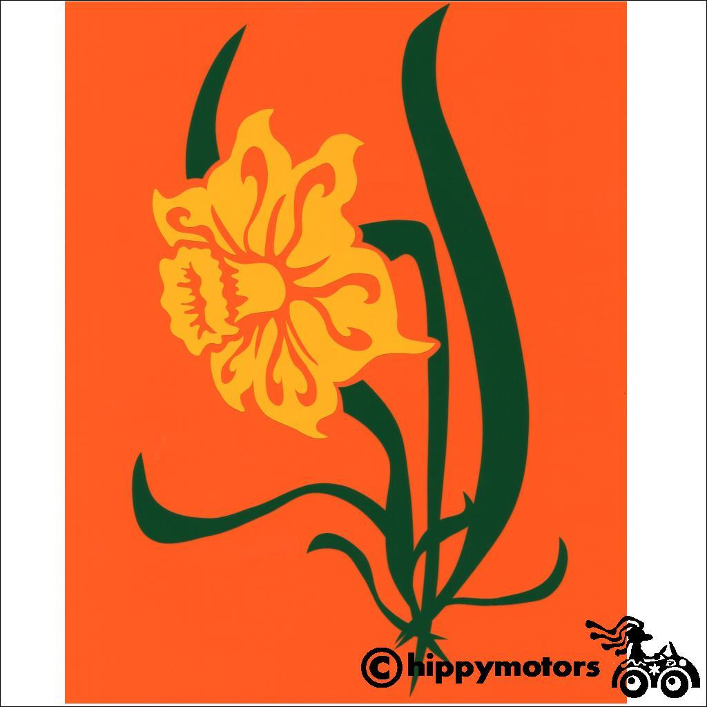 daffodil decal for vehicles