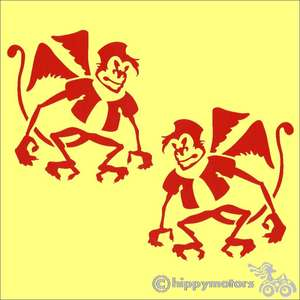 Flying Monkey Decal