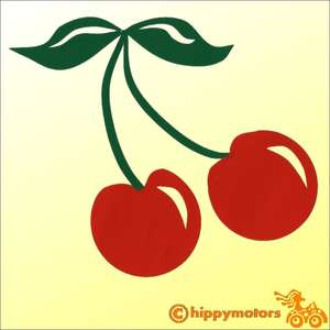 cherry stickers for cars windows walls