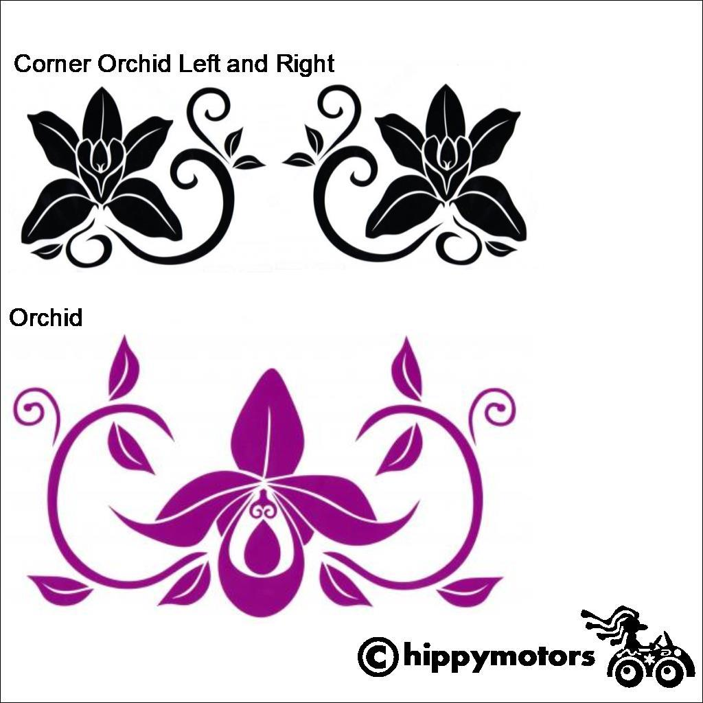 Orchid Decal for vehicles