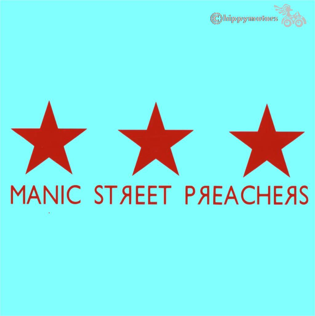 manic street preachers vinyl decal sticker for cars walls and windows