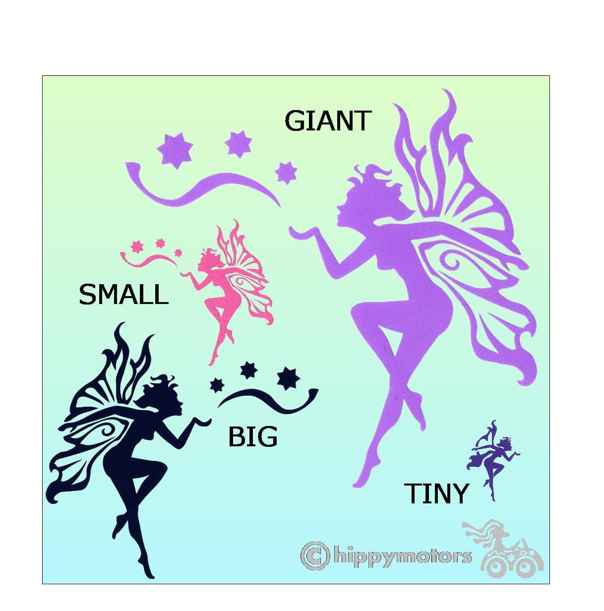 fairy kiss camper van window decals