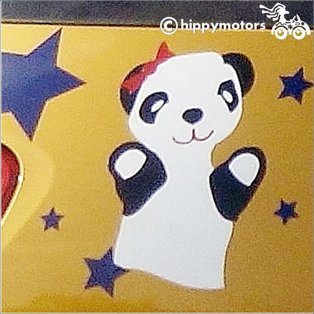 Soo from Sooty Show Decal for cars walls windows