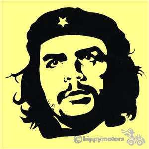 Che Guevara car sticker