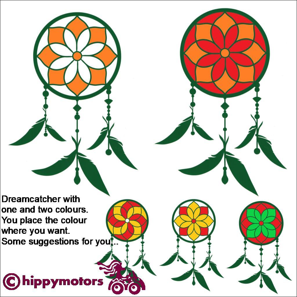 dream catcher vinyl car stickers for windows walls