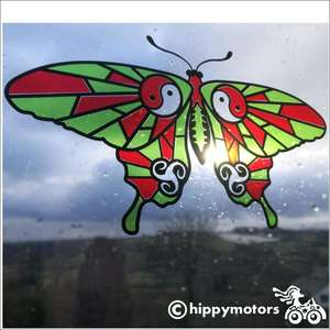 Vinyl Butterfly Window decoration