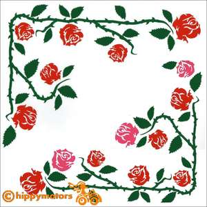 Rambling Rose Decals for vehicles