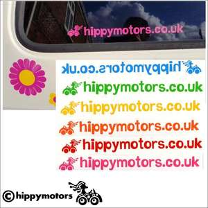 free hippy motors car sticker